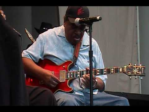"James Cotton Blues Band feat. Matt ""Guitar"" Murphy Part 1 of 2 June 11, 2010 Chicago Blues Fest"