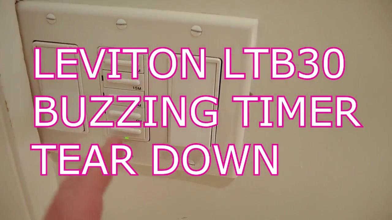 Leviton Ltb30 Buzzing Timer Failure Ysis