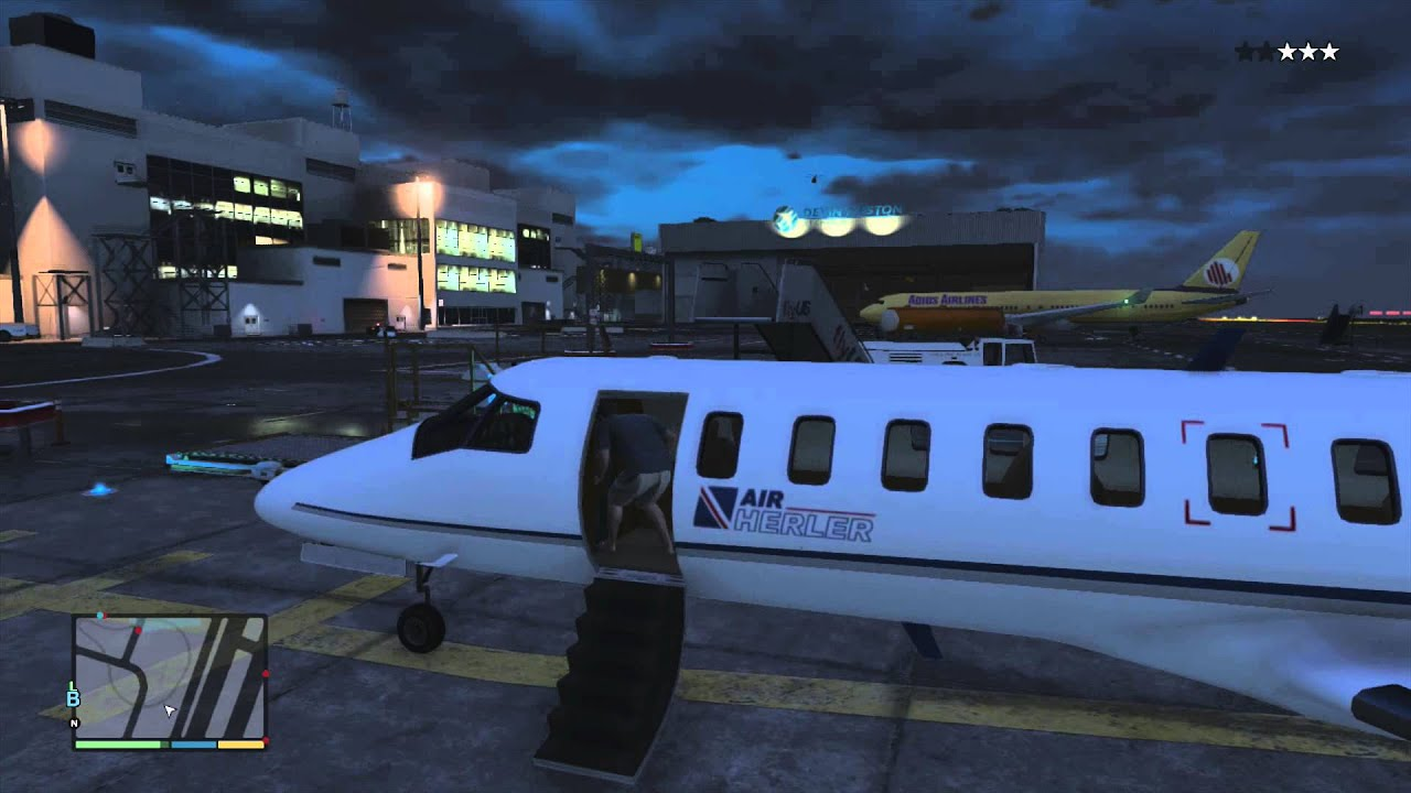 Jet Privato Gta 5 : Amazing private jet gta pustcha