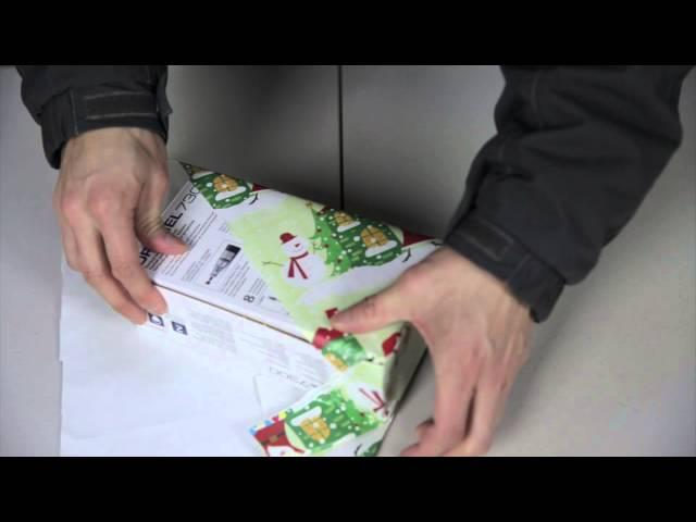 Un truco japonés para envolver regalos en pocos segundos