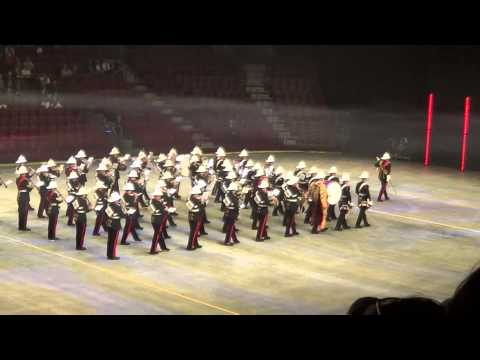 Sweden Intenational Tattoo 2015 - The Band of Her Majestys Royal Marines