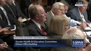 Murray Opening Remarks at Sec. of Education Nominee Betsy DeVos Hearing