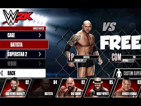wwe 2k free game download for android