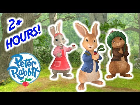Peter Rabbit  Over 2 Hour Special Compilation! | Cartoons for Kids