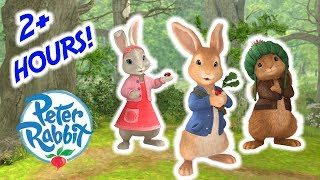 Peter Rabbit - Over 2 Hour Special Compilation! | Cartoons for Kids