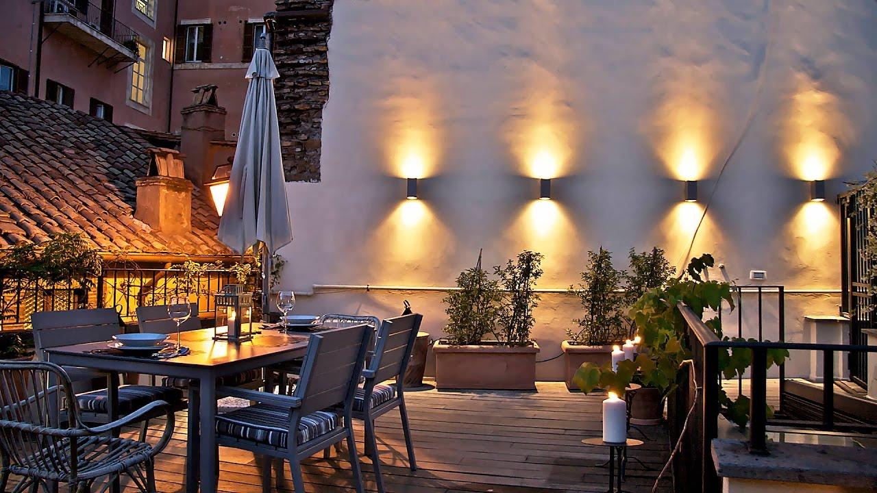 Ciancaleoni Suite - Una romantica terrazza nel cuore di Roma - YouTube