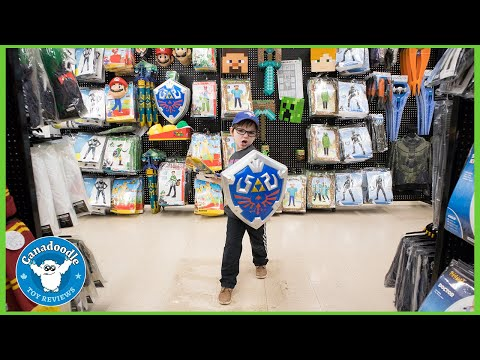 Halloween Costume Shopping At Spirit Halloween! Fortnite + Zelda + Superhero Kid Costumes