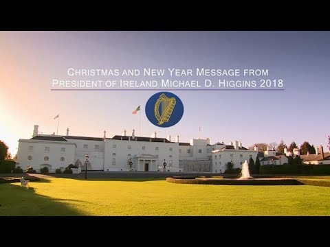 Christmas and New Year message from President of Ireland Michael D. Higgins