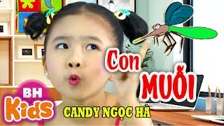 """Con Muỗi - """"Đêm khuya con muỗi vo ve"""" ♫ Candy Ngọc Hà ♫ Nhạc Thiếu Nhi Vui Nhộn"""