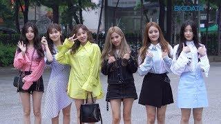 Big영상  4k   여자 아이들-유미 5월11일 뮤직뱅크 리허설 출근길