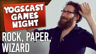 ROCK PAPER WIZARD | Games Night