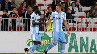 Nizza-Lazio 1-3, la reazione di un tifoso della Lazio