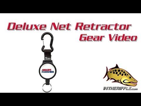 Deluxe Fly Fishing Net Retractor