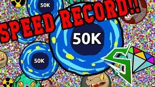 TYT Agario World Record domination w/ TYT Sirius - Agar.io server takeover!