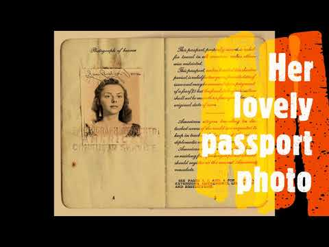 US Passport 1949 Cuba