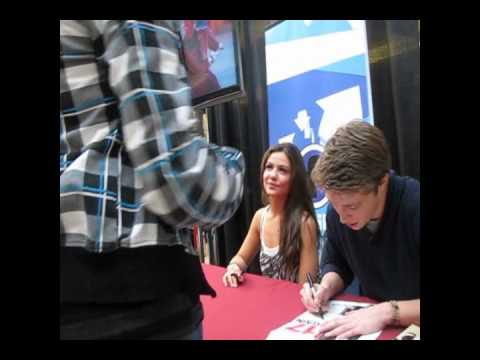 5 1 10 Meeting Sterling Knight Danielle Campbell In Edmonton