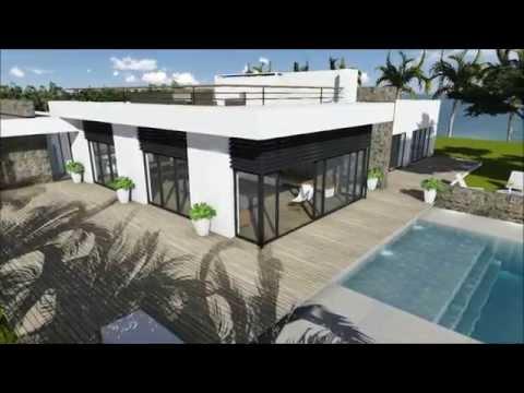 Modern Villa 3D Flythrough
