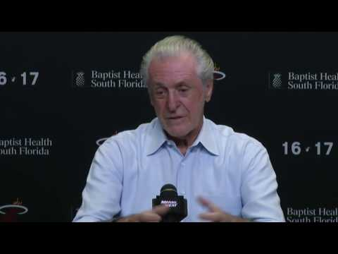 Miami Heat - Pat Riley - 2016-17 end of season press conference (Part 1 of 4)
