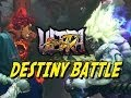Oni Vs. Evil Ryu DESTINY BATTLE - Ultra Street Fighter 4 Online