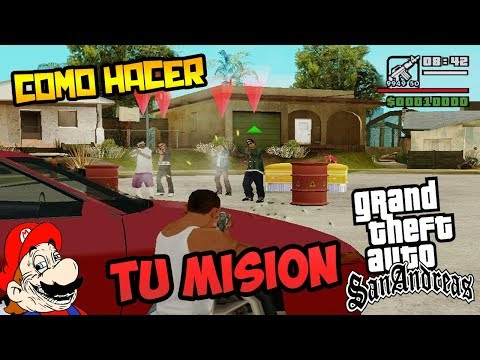 COMO HACER TU MISIÓN EN GTA SAN ANDREAS - DYOM LOQUENDO