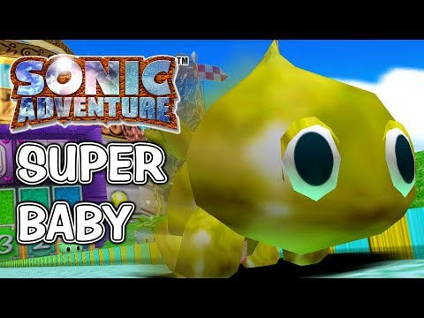 Baby Chao are OP - Sonic Adventure