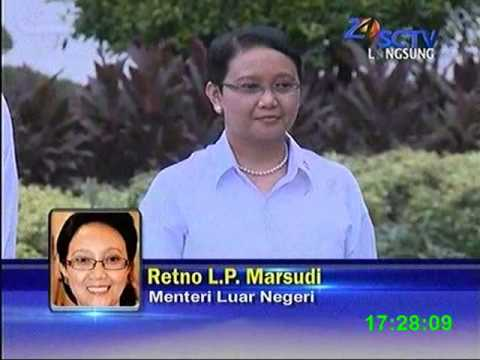 34 Menteri di tunjuk pak Jokowi.JK