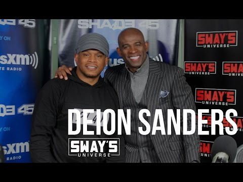 Deion Sanders Raps  + Talks Football on Sway in the Morning  Sway&39;s Universe