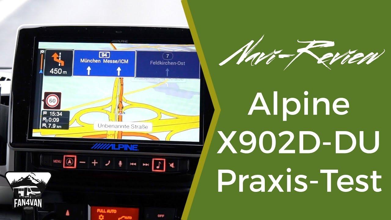 Wohnmobil Navigation - Alpine X10D-DU Praxistest & meine Erfahrungen