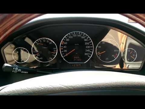 W140 104 двигатель, температурный режим