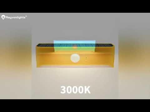 Rayven Saving Energy Wall Light Microwave Solar Cells For Garden Lights Wall Lamp 100SMD