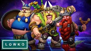 Heroes of the Storm: INSANE Match - The Lost Vikings Gameplay!