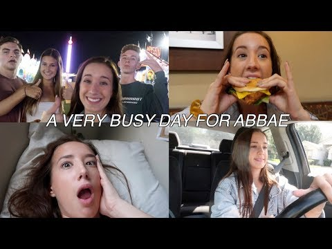a *CRAZY* day in the life of a RLLY FAMOUS youtuber