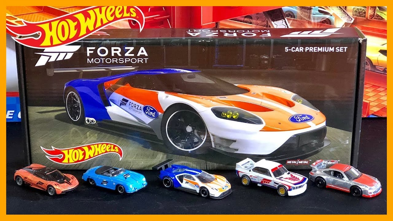 hot wheels forza 5 car premium set race and review youtube. Black Bedroom Furniture Sets. Home Design Ideas