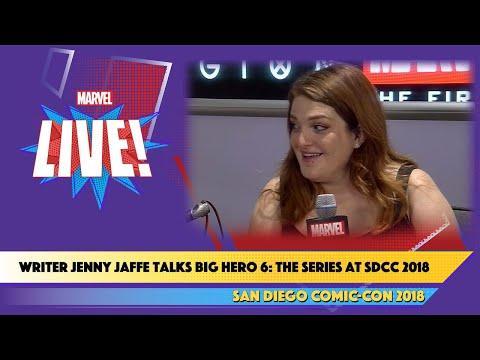 Writer Jenny Jaffe Talks Big Hero 6: The Series