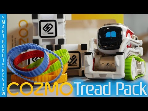 Cozmo's Olympic Style Antics - Tread Pack By ANKI - Smart Robots Review