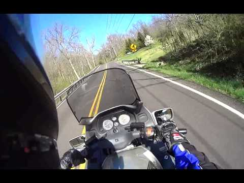 VLOG #1 (uncut) Honda ST1100 in Cincinnati - Sony AS10 Action Cam