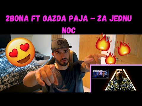 2Bona Ft Gazda Paja – Za Jednu Noc   REACTION   Balkan Music