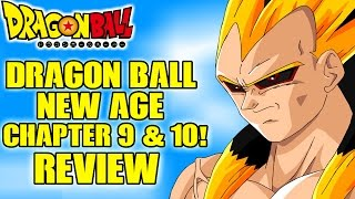 Dragon Ball: New Age Chapters 9 & 10 - Rigor Vs Super Saiyan 4 Goku & Vegeta (Fan Manga Review)