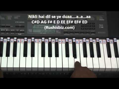 Gerua Song Piano Tutorials - Dilwale - Full Notes | 7013658813 - PDF NOTES/BOOK - WHATS APP US