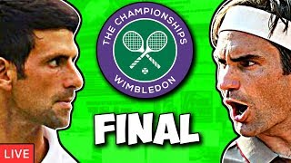 Novak DJOKOVIC vs Roger FEDERER | Wimbledon 2019 | LIVE Play-by-Play