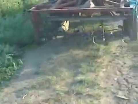 Самодельная фреза для трактора