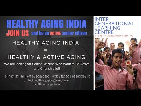Healthy Aging India = Indian Seniors Coach Underprivileged Children Says Voice of America VOA
