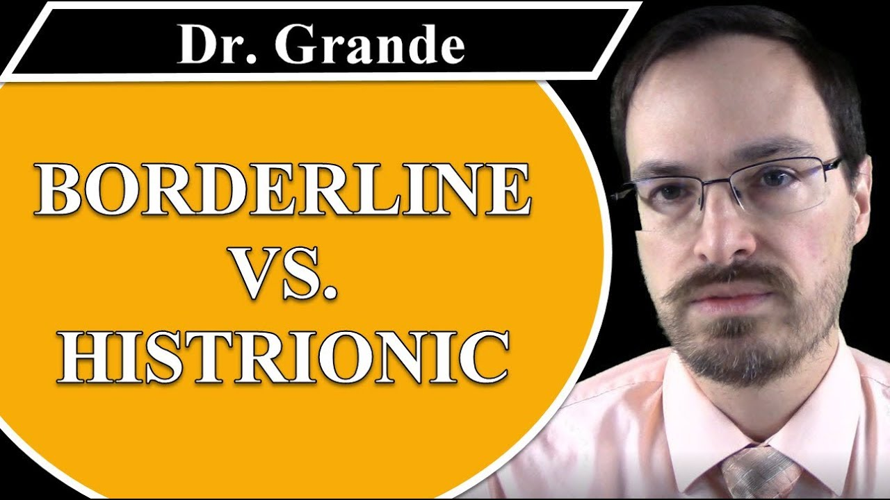 What is the Difference Between Borderline Personality Disorder and  Histrionic Personality Disorder