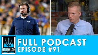 Advice for McVay, Cowboys come up short & Clowney's career day | Chris Simms Unbuttoned (Ep 91 FULL)
