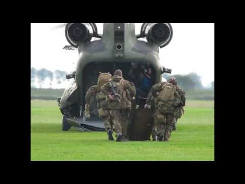 helicopter crash landing   Chinook helicopter at Memorial Boulevard   Sling Load Operations