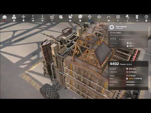 How To Armor Your Cab (Crossout)