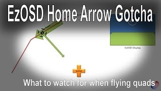 Immersion RC EzOSD direction to home arrow gotcha