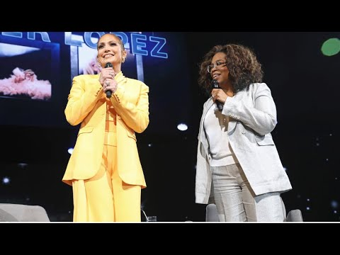 Oprah's 2020 Vision Tour Visionaries: Jennifer Lopez Interview