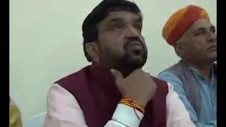 हनुमान बेनीवाल पर भाजपा प्रभारी महेंद्र सिंह राठौड़ का बड़ा बयान, बोले हनुमान बेनीवाल नही है चुनोती