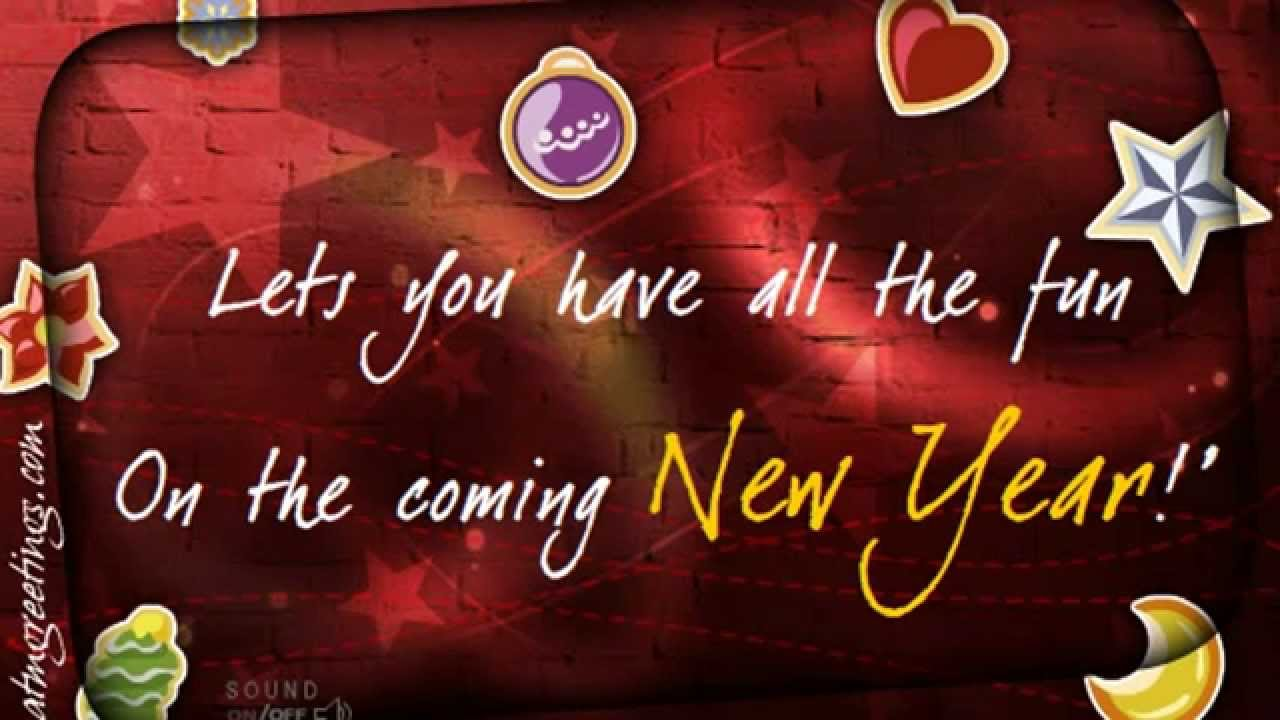 new year 2018 love sweetheart ecards wishes greetings card video whatsapp 11 07 youtube